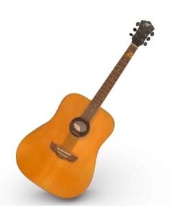 Gitarre virtuell 3D