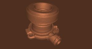3d Scan eines technischen Teiles