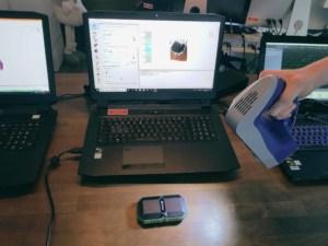 Arbeitsplatz eines 3D Technikers