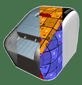 Labeldrucker 3D Scan Prozess