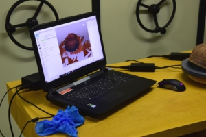 3D Laserscan mit Laptop