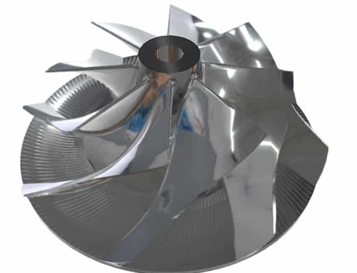 3D Scan Industrie Schaufelrad