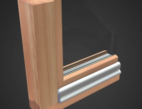 Fenster 3D modelliert