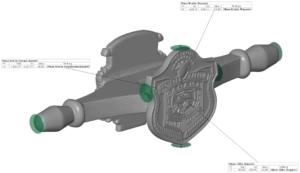 Vermessung 3D Scan Teil