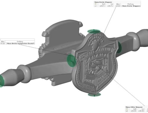 3D Vermessung Bauteile