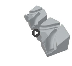 Link zu einen in 3D gescannten Maschinenteil