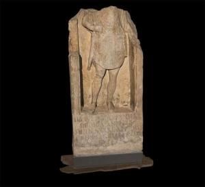 Ansicht des Grabstein Tiberius Julius Abdes Pantera