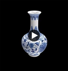 Link zur 3D Datei einer antiken Vase aus den Museum